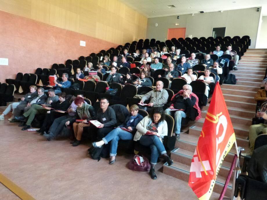 Une cinquantaine de délégués a assisté au congrès.