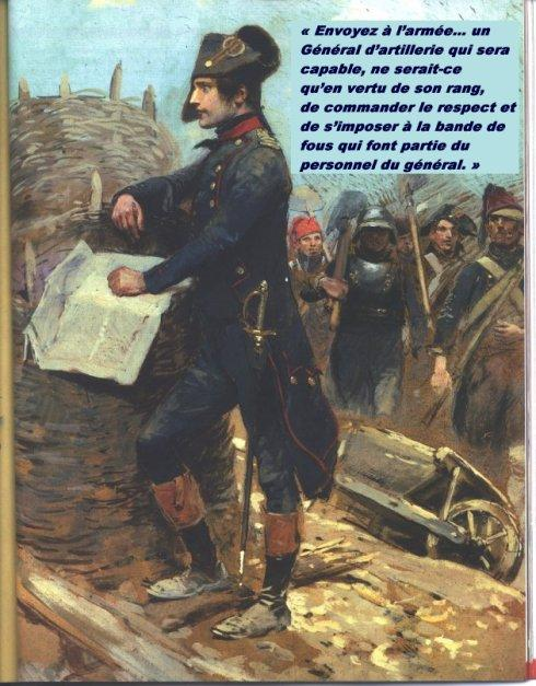 Une des citations de Napoléon-Bonaparte. (Photo-repro DR)