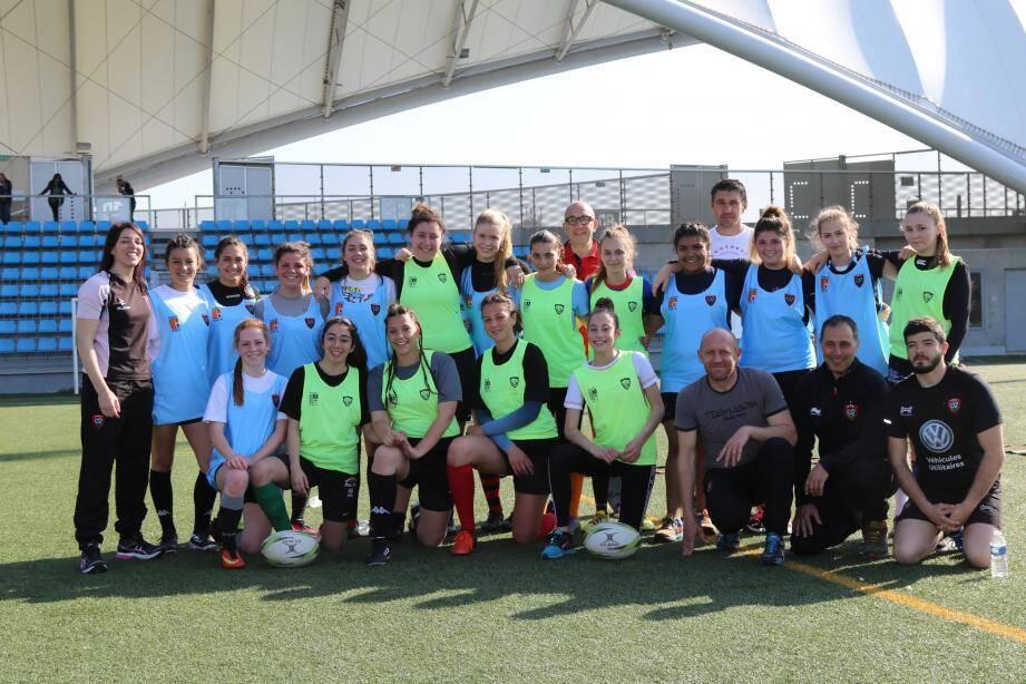 En pleine période de recrutement, les équipes féminines du RCT de la saison prochaine seront encadrées par Benoît Lauze et Pascal Picard pour les cadettes à 7, Didier Salvarelli et Virginie Laporta en senior à XV qui évolueront en Fédérale 2.