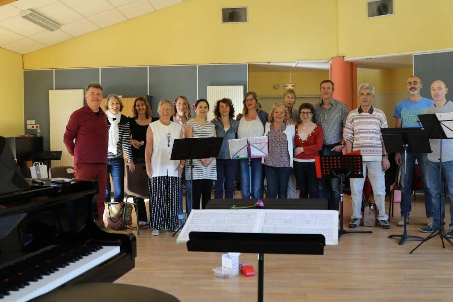 Les choristes seront en audition, ce mercredi à 20h, au conservatoire du Revest afin de préparer leur concert du 30 avril, à 20 h, à l'église de Solliès-Ville.