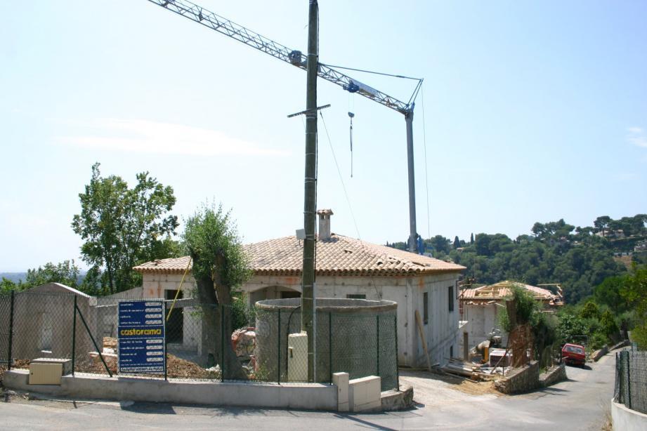 Un programme de 161 logements va être construit sur la partie sophipolitaine de la commune.