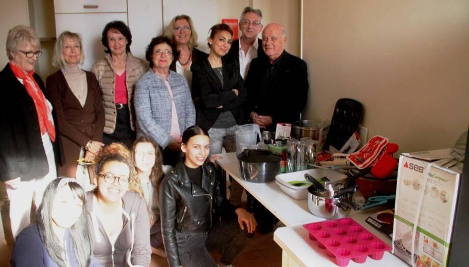 Les participants réunis.