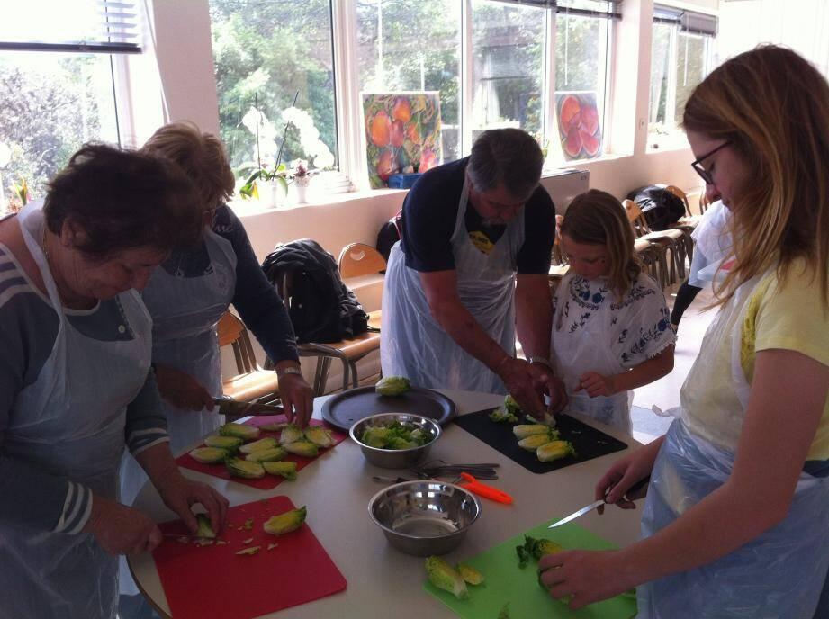 De nombreux ateliers culinaires seront proposés durant le week-end.
