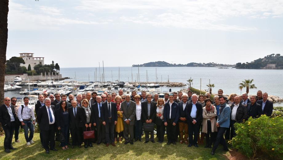 Quelques-uns des directeurs de ports de la région se sont retrouvés à Beaulieu-sur-Mer pour l'assemblée générale annuelle.
