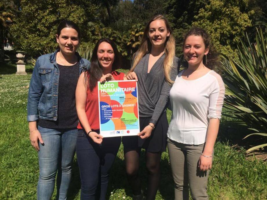 Les quatre étudiantes en médecine et en kinésithérapie doivent réunir 7000 euros pour financer leur voyage et leur projet au Sri Lanka.