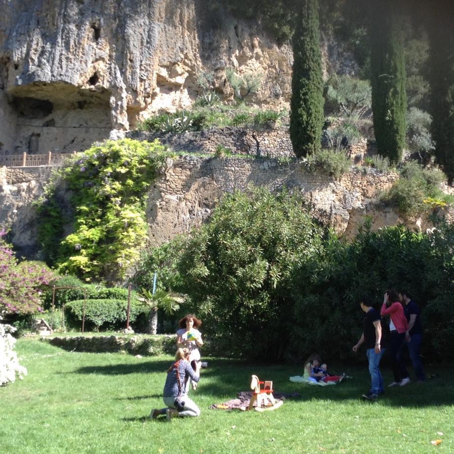 Le parc est un halo de fraîcheur et de sérénité.
