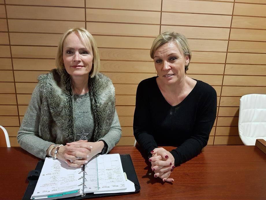 Anne Joubert, et Christelle Roux, souhaitent apporter une aide concrète aux proches des personnes handicapées.