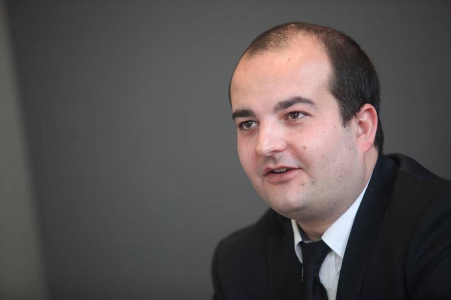 David Rachline, sénateur-maire de Fréjus