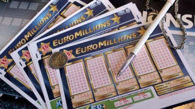 Un bulletin de l'Euromillions.