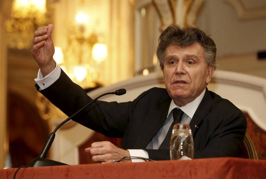 Thierry de Montbrial était l'invité de la Monaco Méditerranée Foundation, lundi 3 avril, à l'Hermitage.