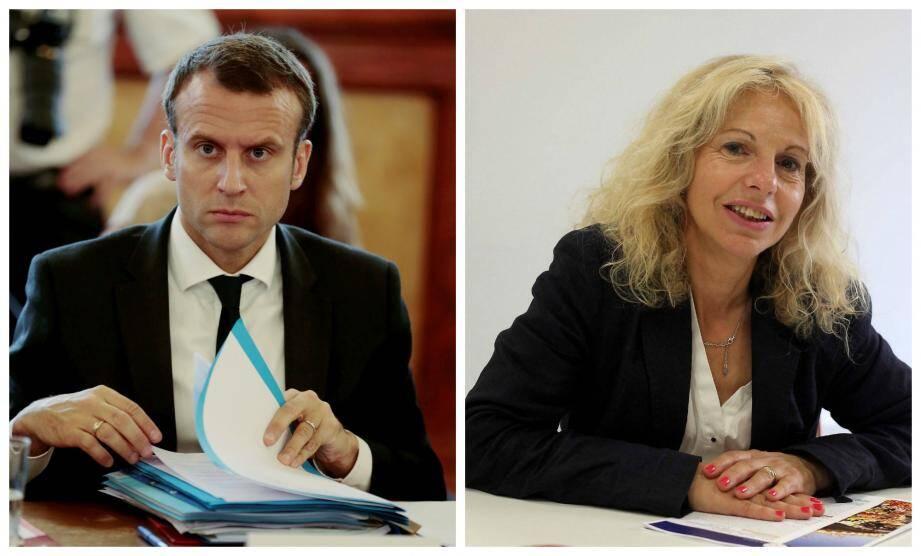 Macron compte désormais sur le soutien de Joëlle Martinaux.
