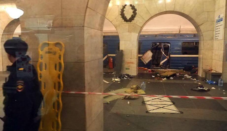 L'explosion a eu lieu dans un wagon.