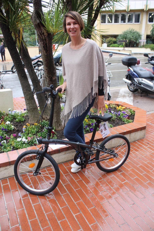 Laetitia a déjà une proposition de partenariat avec une société de vélos belges.