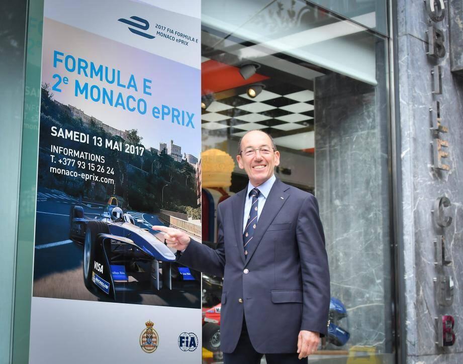Commissaire général de l'Automobile club de Monaco, Christian Tornatore se prépare à cette deuxième édition.