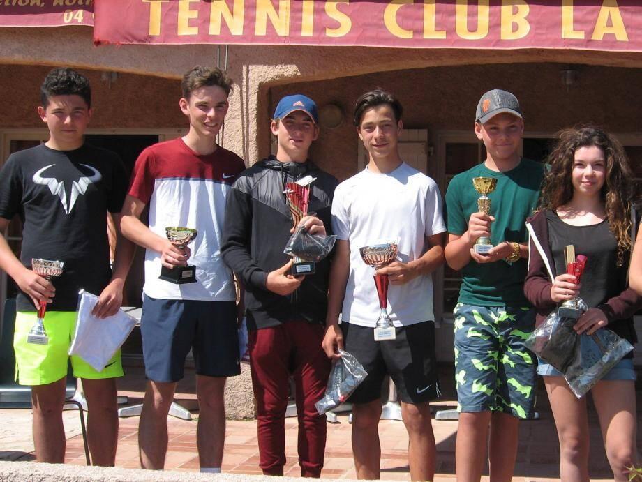 Le tournoi jeunes s'est achevé sur des parties âprement disputées.