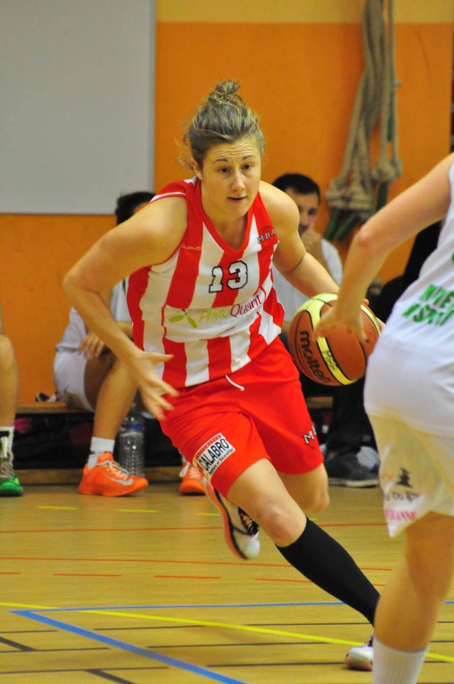 Candice Facchini et ses coéquipières ont survolé leur premier match de play off joué le week-end dernier en Vendée.