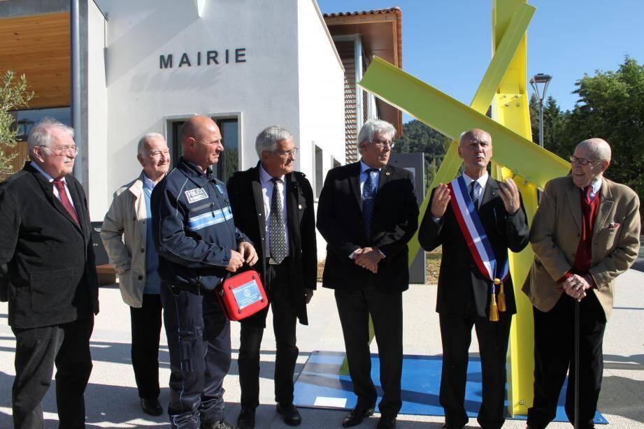 Journée d'inauguration pour André Guiol et son conseil municipal.