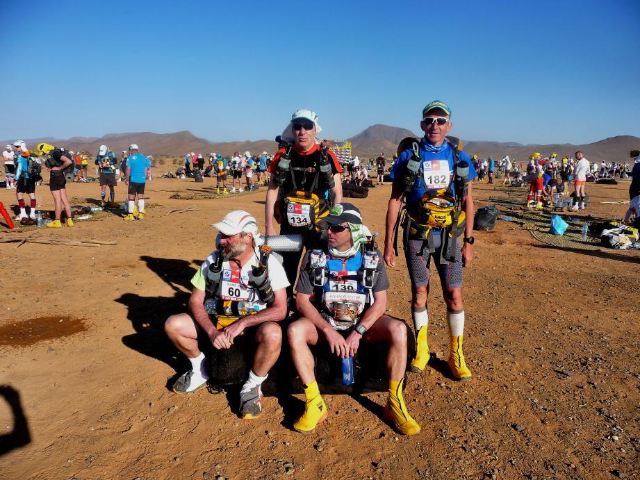 Jean Gerardin (dossard 182) a réalisé un superbe Marathon des Sables en le bouclant en 42 h15'55''.