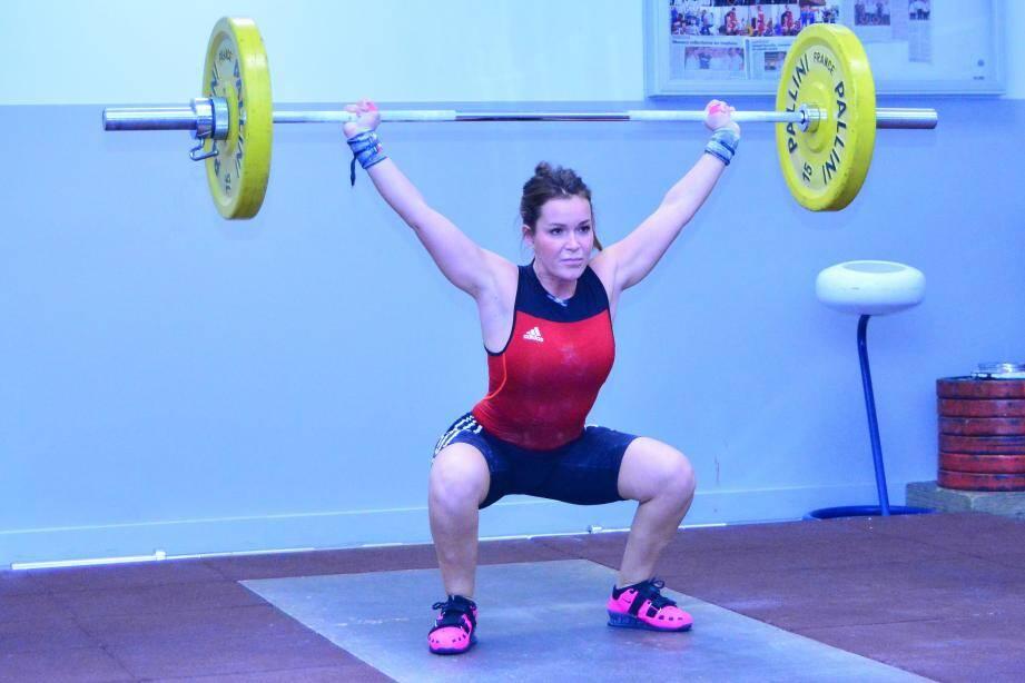 L'athlète peut être fière de ses performances.(DR)