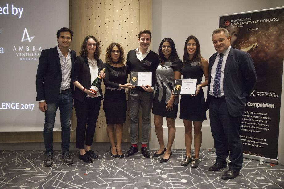 L'International University of Monaco a organisé ce projet qui a réuni 75 équipes de 16 pays. Une équipe de la London Business School a gagné.(DR)