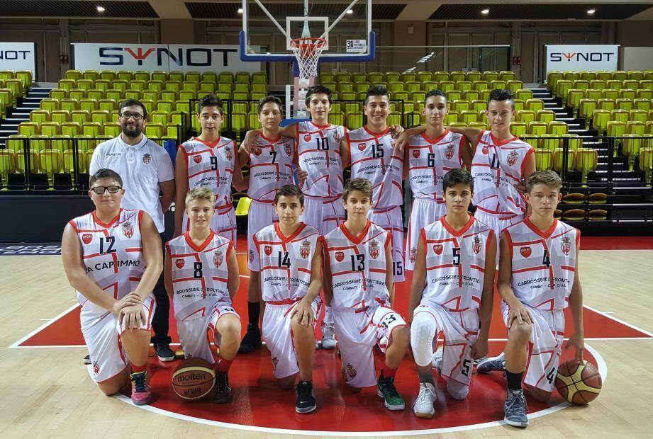 L'équipe des U15 de l'AS Monaco est championne interrégionale à l'issue d'une saison exceptionnelle des garçons coachés par Nordine Boudaoud.