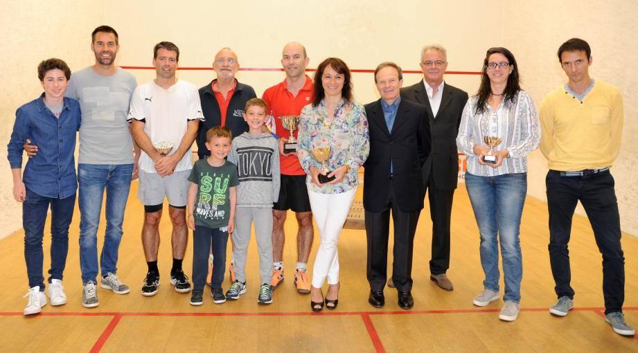 A l'issue de ce championnat, Anne Baldoni et Christian Billard ont respectivement remporté leur 5e et 21e titre national. (DR)