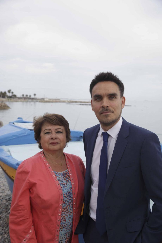 Le tandem du FN pour la 6e circonscription : Yoann Saliba et Patricia Troncin.