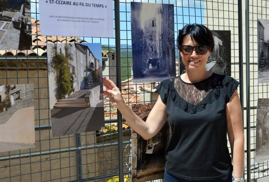 Les photos « avant-après » ont ravivé des souvenirs anciens et montré aussi l'évolution du village historique.