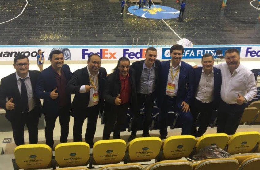 Au cours de son déplacement, Jean Claude Haddad a eu l'occasion de rencontrer de nombreux représentants du club Kairat Fustal ainsi que des membres de la Fédération du Tadjikistan.