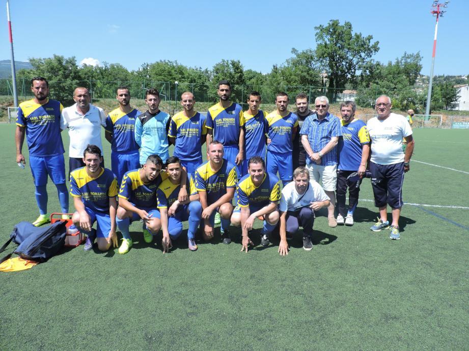 L'équipe du FCPF a sauvé sa saison en PHB.