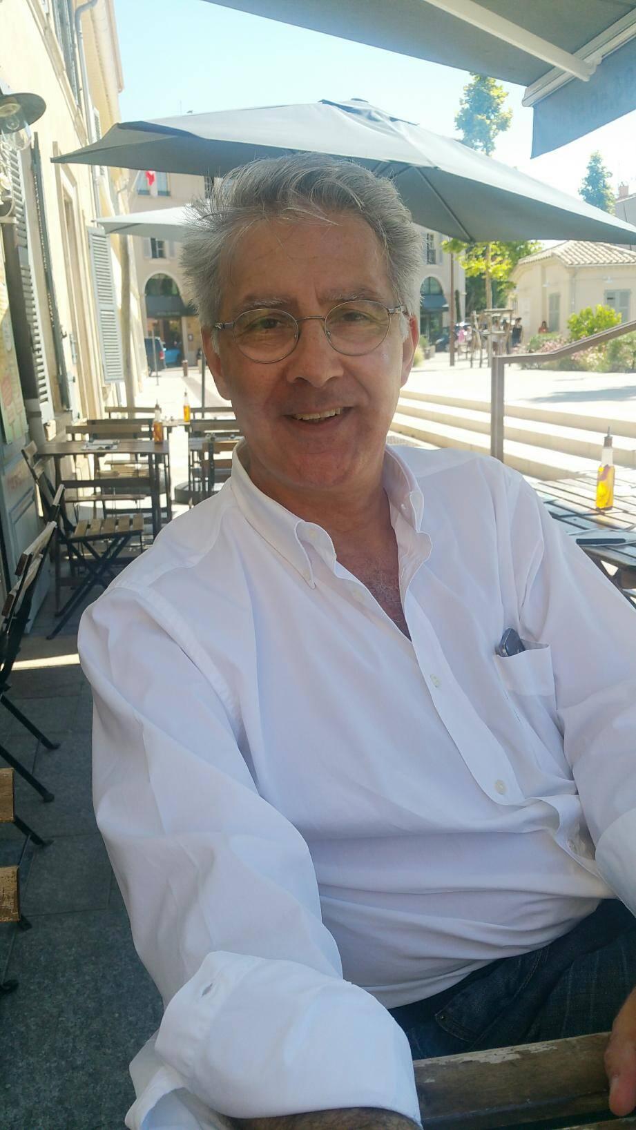 Didier Monnin, candidat PDF dans la 4e circonscription.