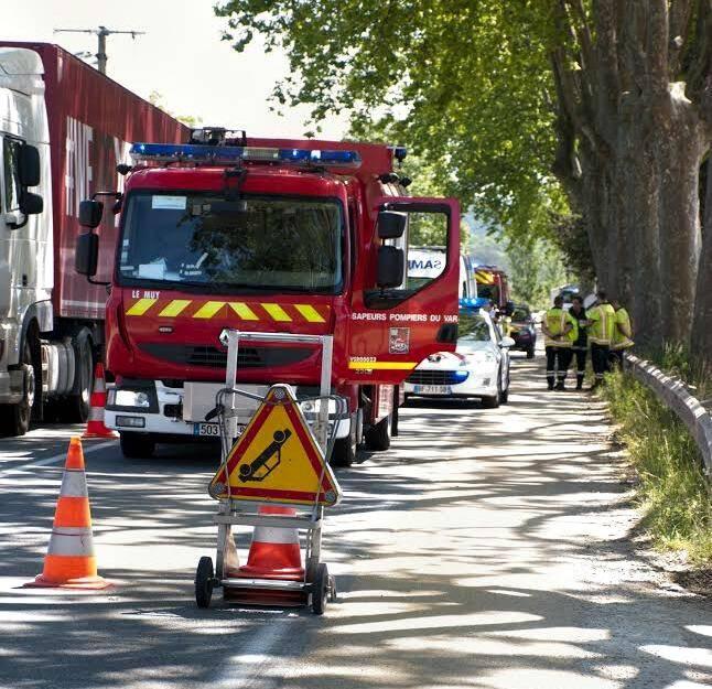 L'accidents est survenu sur la commune des Arcs-sur-Argens