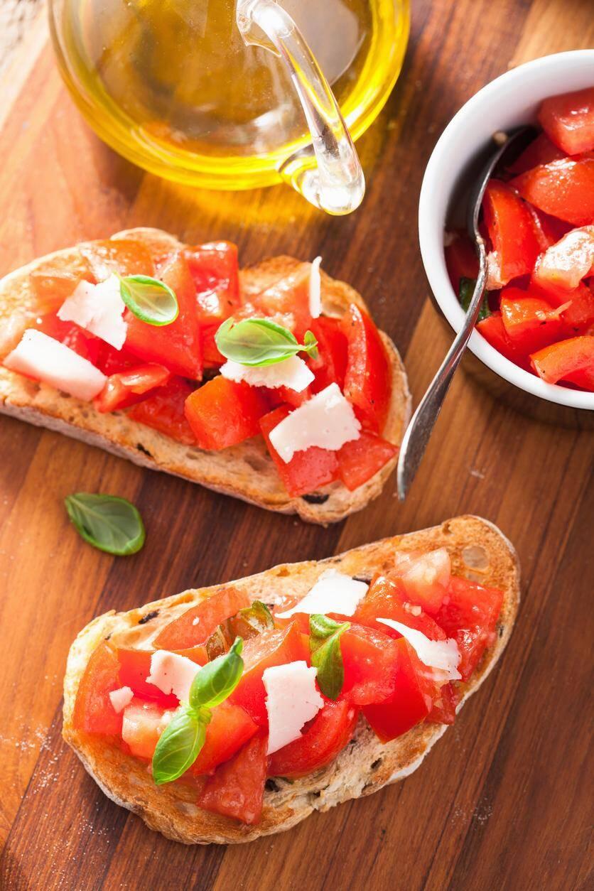 LA RECETTE DU JOUR. Crostini de tomates