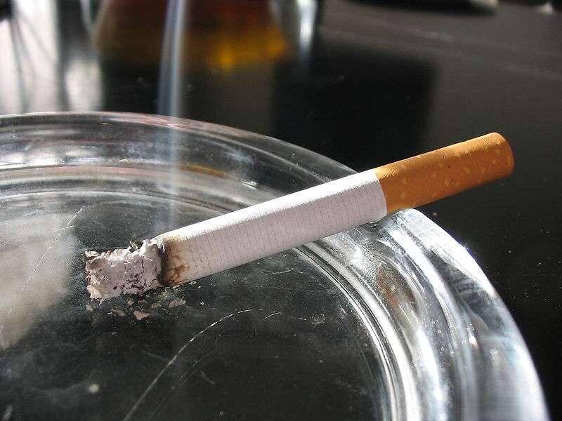 Illustration d'une cigarette.