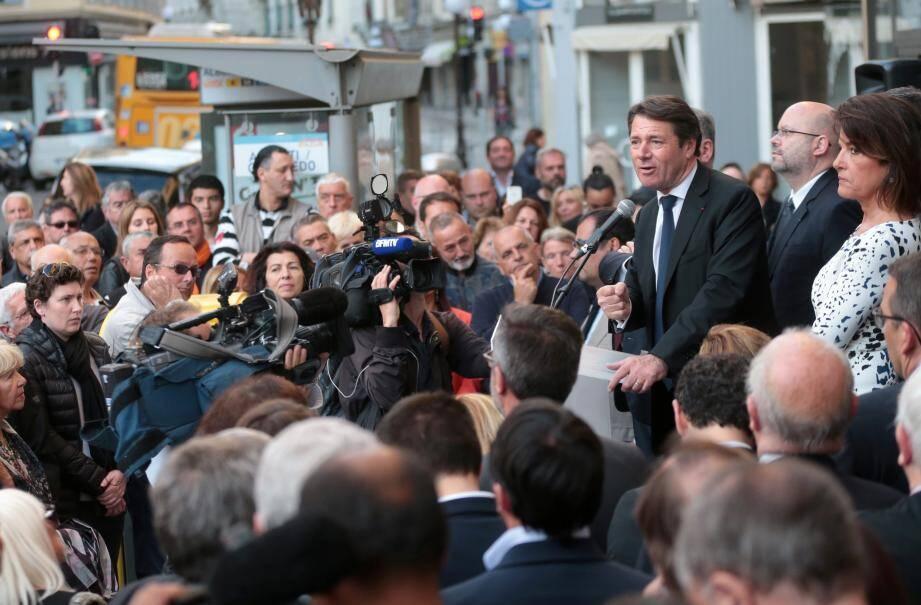 Christian Estrosi annonce qu'il va redevenir maire de Nice