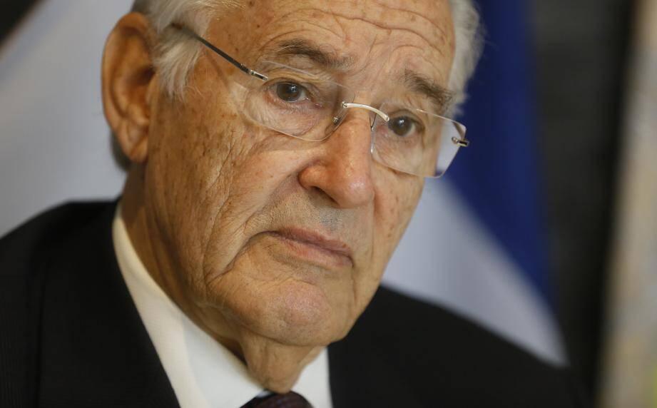 Jacques Peyrat, ancien maire de Nice encarté au FN début de sa carrière.