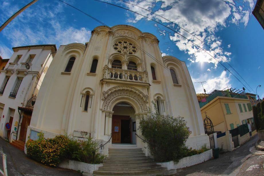 L'église Sainte-Thérèse, quartier Magnan à Nice.