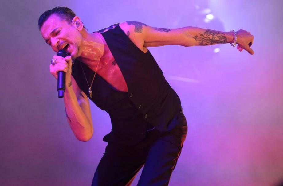Concert de Depeche Mode au nikaia de Nice depeche mode
