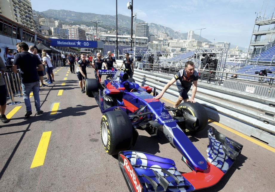 Grand Prix de Monaco - mercredi 24 ami 2017 - Toro Rosso