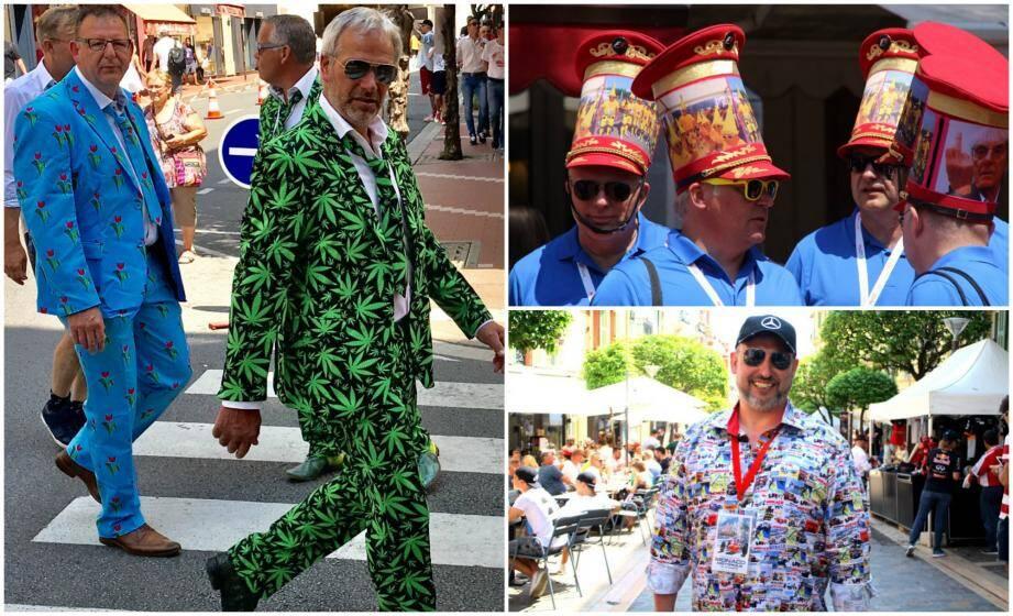 Les looks les plus insolites, croisés lors du Grand Prix de Monaco.