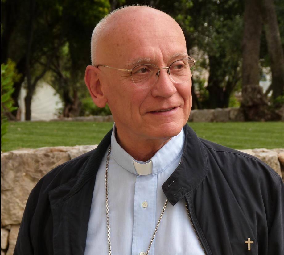 Monseigneur André Marceau, évêque de Nice.