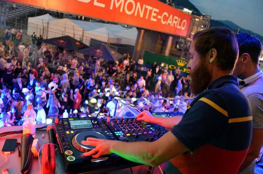 Soirée Grand Prix sur le port de Monaco Soirée GP