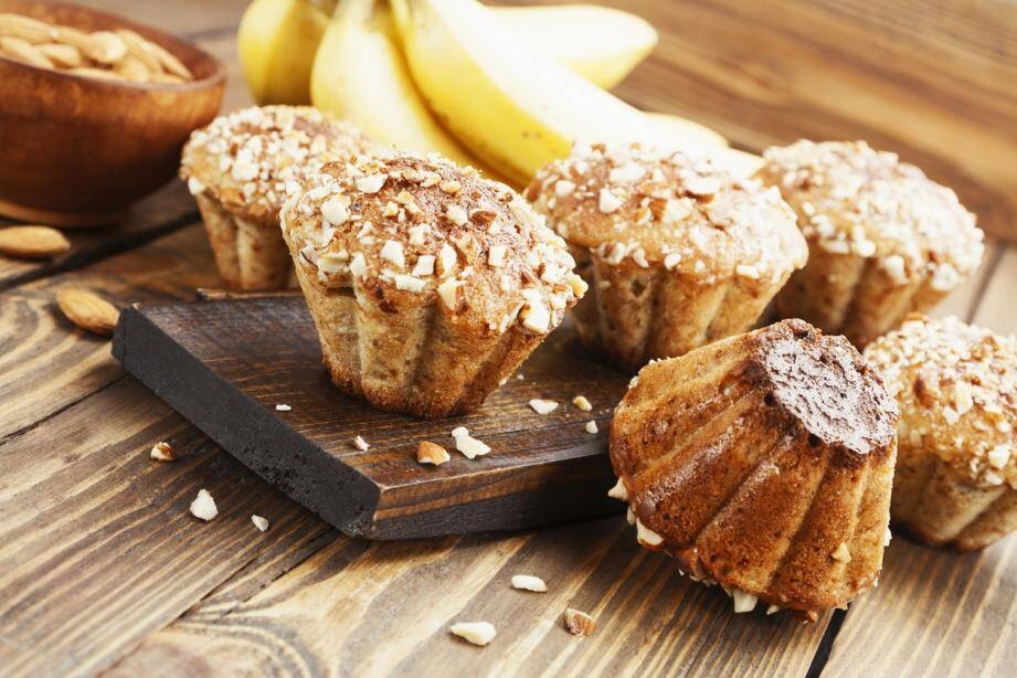 LA RECETTE DU JOUR. Muffins au rhum et à la banane