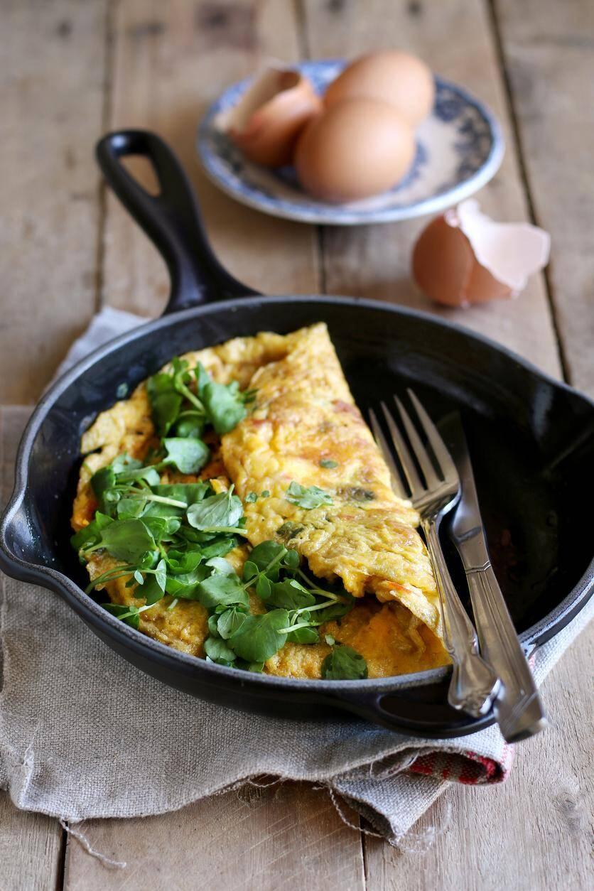 LA RECETTE DU JOUR. Omelette soufflée au crabe