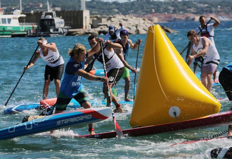 La Paddle race à Sainte Maxime