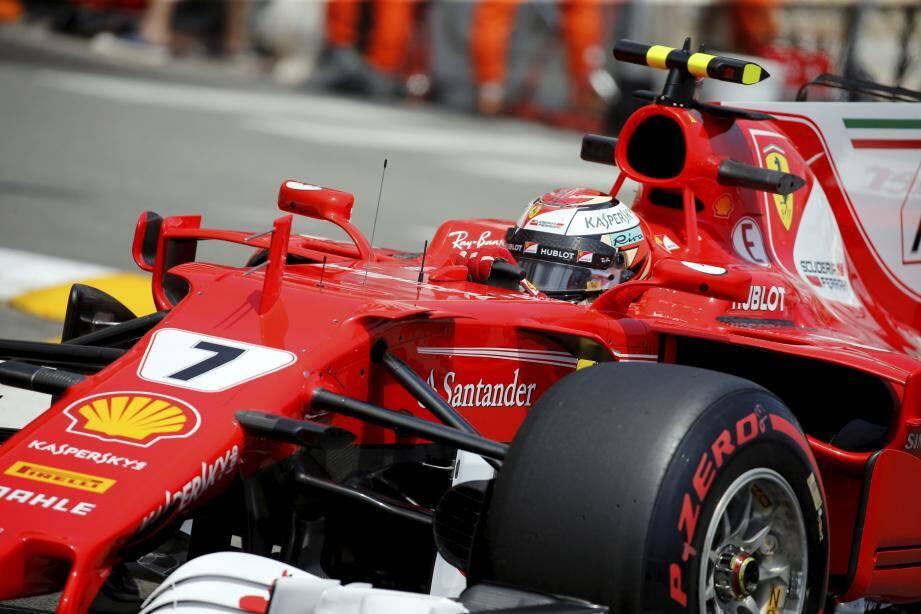 Kimi Raikkonen (Ferrari) a signé le meilleur temps lors des essais.