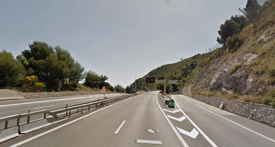 La sortie Roquebrune-Cap-Martin sera fermée de minuit à 3 heures dans la nuit de jeudi.