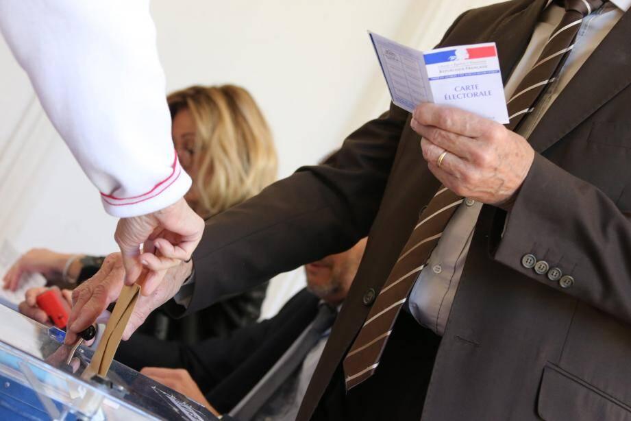 Vote lors du second tour de l'élection présidenteille