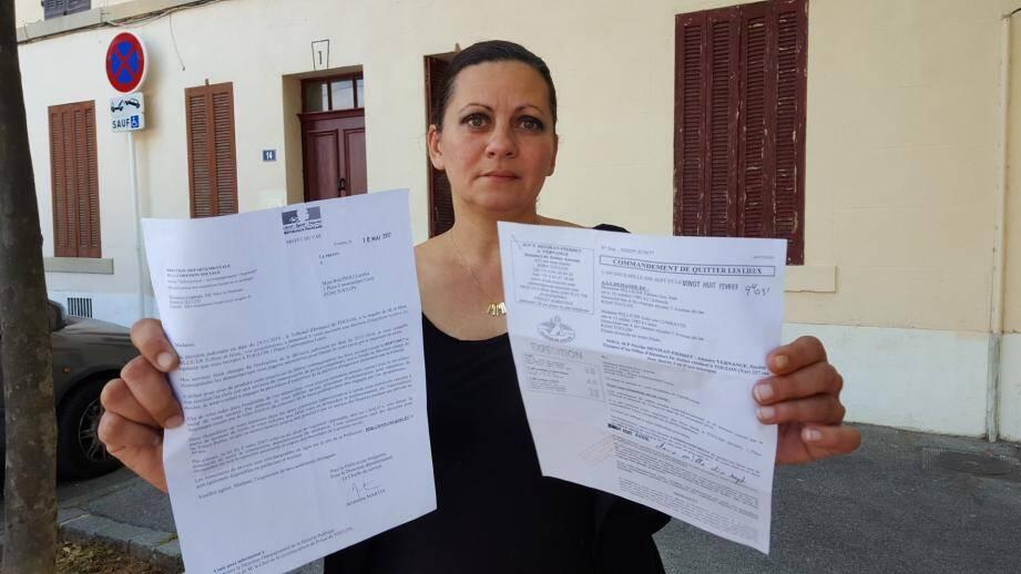 Si Laetitia Bagnoli ne trouve pas de logement d'ici le 9 juillet, elle et ses enfants seront à la rue si sa demande de logement social auprès de Toulon habitat Méditerranée n'aboutit pas d'ici là.