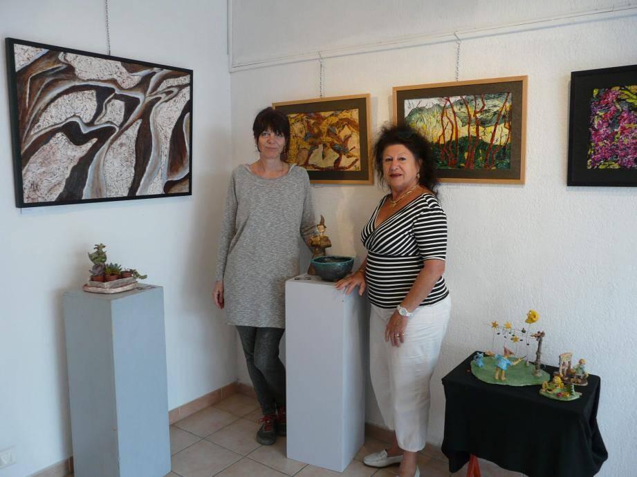 Marketa Lapprand et Maryse Lorek.